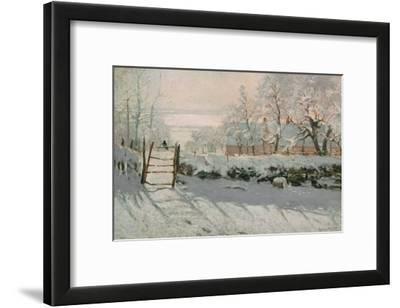 The Magpie, Etretat, Winter 1868-69