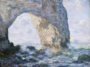 The Manneporte (Étretat), 1883 by Claude Monet