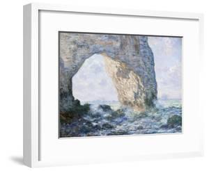 The Manneporte (Etretat) by Claude Monet