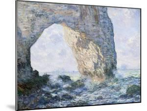 The Manneporte (Etretat) by Claude Monet
