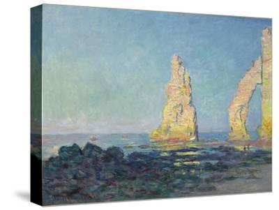 The Needle of Etretat, Low Tide; Aiguille D'Etretat, Maree Basse, 1883
