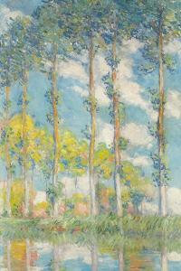The Poplars; Les Peupliers, 1891 by Claude Monet