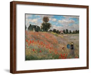The Poppy Field by Claude Monet