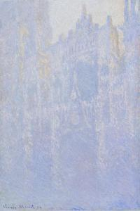 The Portal of Rouen Cathedral in the Morning Fog (Le Portal, Brouillard Matinal), 1894 by Claude Monet