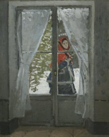 The Red Kerchief: Portrait of Mrs. Monet, c.1868-1878