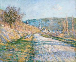 The Road to Vétheuil, 1879 by Claude Monet