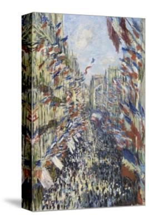 The Rue Montorgueil in Paris, Celebration of June 30, 1878