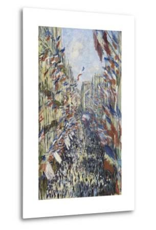 The Rue Montorgueil in Paris, Celebration of June 30, 1878