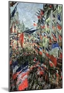 The Rue Saint-Denis, Celebration of June 30, 1878 by Claude Monet