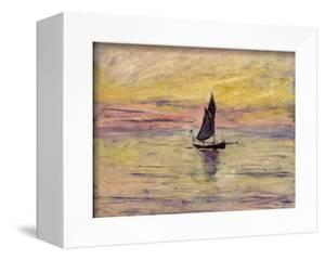 The Sailing Boat, Evening Effect, 1885 by Claude Monet