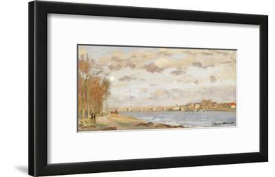 The Seine at Argenteuil; La Seine a Argenteuil, 1872