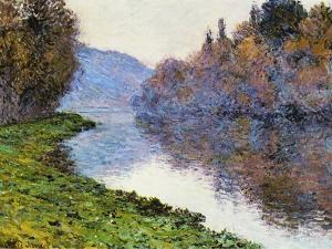 The Seine at Jenfosse, 1884 by Claude Monet