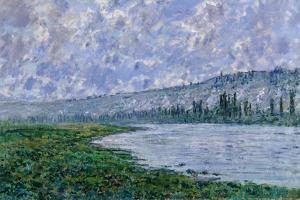 The Seine at Vétheuil, 1880 by Claude Monet
