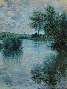 The Seine Near Vetheuil, 1879 by Claude Monet
