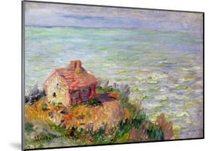 The Shack of the Customs Officials, Afternoon; 1882 by Claude Monet