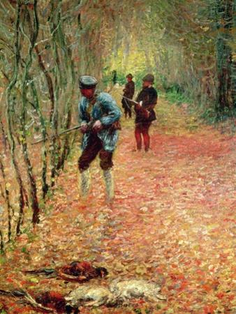 The Shoot, 1876 by Claude Monet