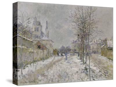 The Snow-Covered Boulevard De Pontoise at Argenteuil, 1875