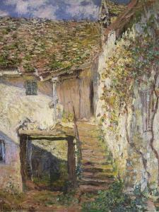 The Stairs, 1878 by Claude Monet