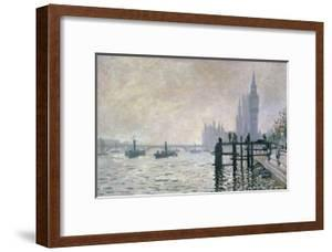 The Thames Below Westminster, 1871 by Claude Monet