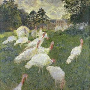 The Turkeys, 1877 by Claude Monet