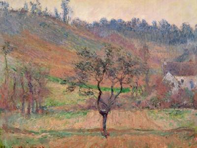 The Valley of Falaise, Calvados, France, 1883 by Claude Monet