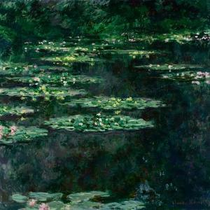The Water Lilies (Les Nymphéa) by Claude Monet