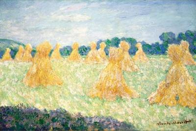 The Young Ladies of Giverny, Sun Effect, 1894 by Claude Monet