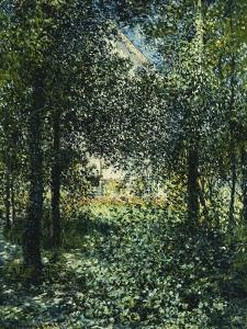 Thicket: The House of Argenteuil by Claude Monet