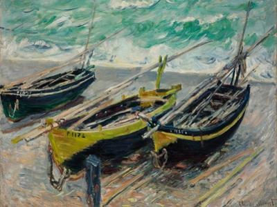 Three Fishing Boats, 1886