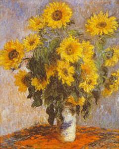 Tournesols by Claude Monet