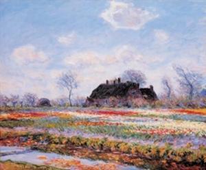 Tulip Fields by Claude Monet