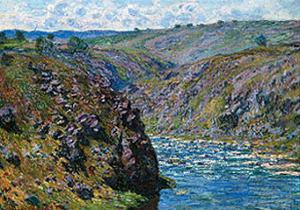Valley Of The Creuse, 1889 by Claude Monet