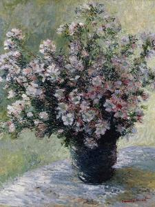 Vase of Flowers by Claude Monet