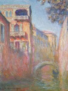 Venice - Rio de Santa Salute, 1908 by Claude Monet