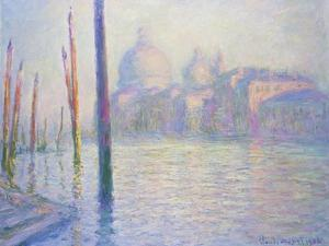 Venice, Santa Maria De La Salute, 1908 by Claude Monet
