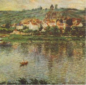 Vertheuil, c.1901 by Claude Monet
