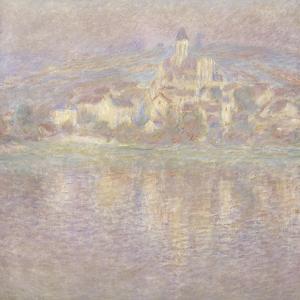 Vétheuil, soleil couchant by Claude Monet