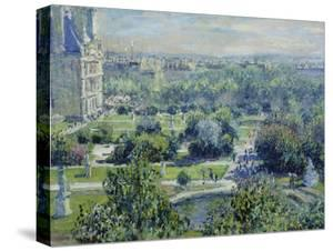 View of the Tuileries Gardens, Paris, 1876 by Claude Monet