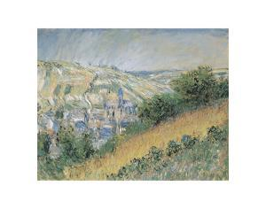 View of Vétheuil, 1881 by Claude Monet