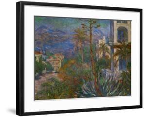 Villas in Bordighera, Italy by Claude Monet