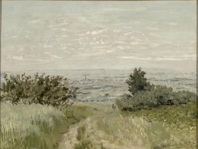 Vue de plaine à Argenteuil, côteaux de Sannois by Claude Monet