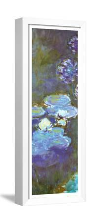 Water Lilies and Agapanthus (detail)