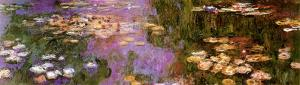 Water Lilies I by Claude Monet