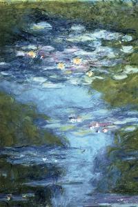 Claude Monet Water Lilies in Pond
