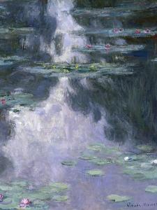 Water Lilies (Nymphéa), 1907 by Claude Monet