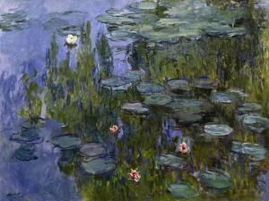 Water Lilies (Nympheas), 1918/1921 by Claude Monet