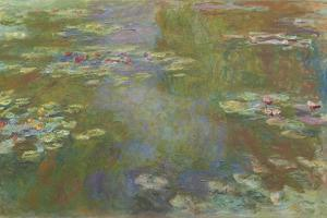 Water Lily Pond, 1917-19 by Claude Monet