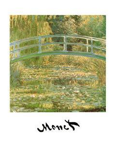 Water Lily Pond by Claude Monet