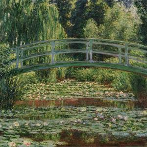 Water Lily Pool, 1899 by Claude Monet