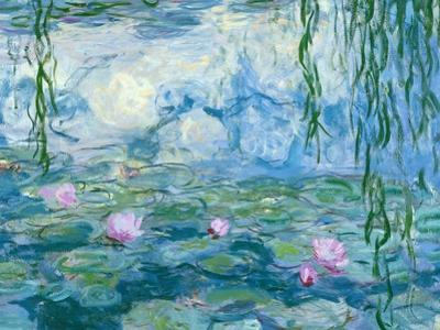 Waterlilies, 1916-19 (Detail) by Claude Monet